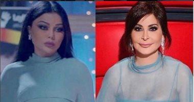 إليسا و هيفاء وهبى بفستان متشابه ..مين فيهم الأجمل؟