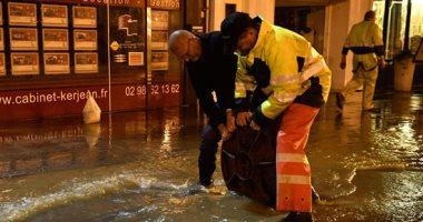 "صور.. ""فرنسا تغرق"" الفيضانات تضرب مدينة مورليه"