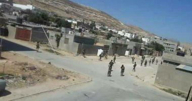 الجيش الليبى فى درنة
