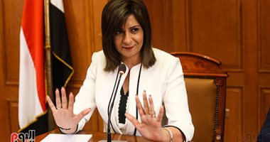 وزيرة الهجرة تهنئ فاروق الباز لحصوله على جائزة إنامورى للريادة الأخلاقية