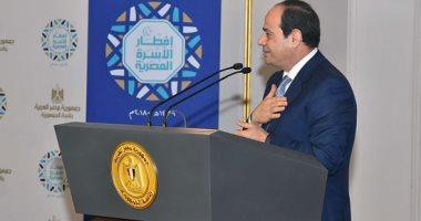 صور.. السيسى يشكر الجيش والشرطة والقضاء.. ويؤكد: انتخابات الرئاسة تمت بتجرد