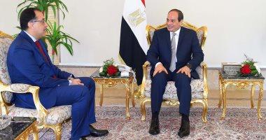 مصطفى مدبولى يهنئ الرئيس السيسي بعيد تحرير سيناء