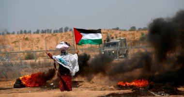 إصابة فلسطينى بالرصاص وقنابل الغاز إصابة فلسطينى بالرصاص وقنابل الغاز