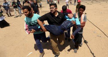مشاهد من التصعيد الإسرائيلى المتكرر فى قطاع غزة ـ أرشيفية