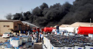 الداخلية العراقية: عثرنا على مادة البنزين بمكان حريق مخازن مفوضية الانتخابات
