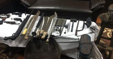 ضبط 6 أسلحة نارية ومواد مخدرة وتنفيذ 4315 حكم قضائى بكفر الشيخ