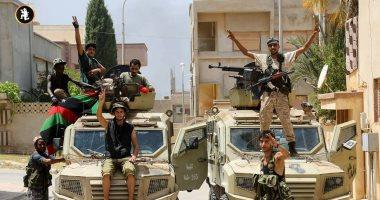 القيادة العامة للجيش الوطنى الليبى ترسل تعزيزات عسكرية إلى الجنوب الغربى