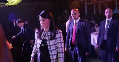 صور.. بدء مؤتمر وزيرة السياحة لإعلان فعاليات الوزارة للترويج لمصر خلال بطولة كأس العالم