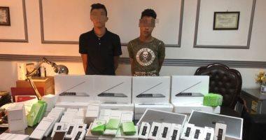 عاطلان وراء سرقة 15 كمبيوتر و100 شاشة محمول من شركة بمدينة نصر