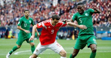روسيا تتفوق على السعودية 2 - 0 فى الشوط الأول 2018061405090595.jpg