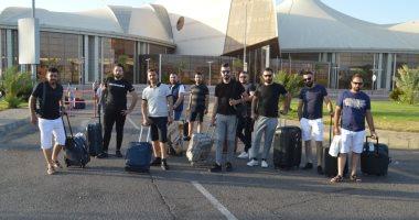مطار القاهرة يستقبل فوجين سياحيين قادمين من بريطانيا و روسيا