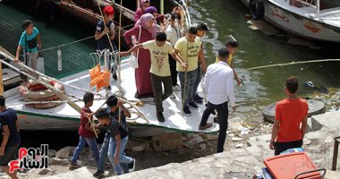 حملة لفحص مراكب الصيد والملاحة بالقناطر تسفر عن تحرير 4 محاضر لانتهاء التراخيص