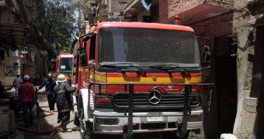الدفع بـ 6 سيارات إطفاء للسيطرة على حريق مخزن كرتون بقليوب