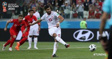 كأس العالم 2018.. تونس تحرز أول هدف عربى
