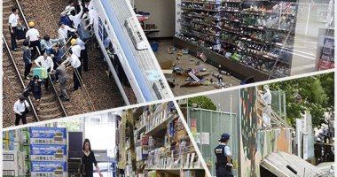 توقف الحياة فى اليابان بسبب زلزال بقوة 6.1 درجة