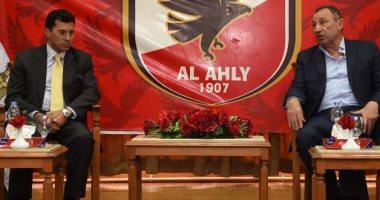الأهلى يطالب وزير الرياضة بالتدخل لإقامة مباراة حورويا على ملعب السلام