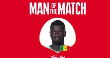 نيانج يفوز بجائزة أفضل لاعب فى مباراة السنغال وبولندا فى كأس العالم