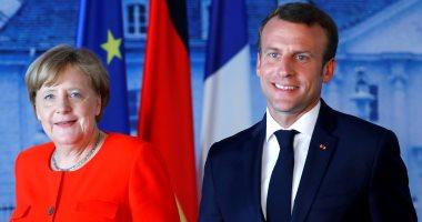 ماكرون يعلن دعمه لميركل إذا نافست على رئاسة المفوضية الأوروبية