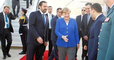 المستشارة الألمانية تختتم زيارتها للبنان بعد لقاء مع الرئيس ميشال عون