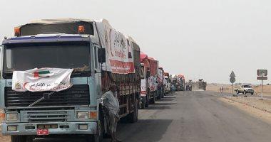 الهلال الأحمر الإماراتى يوزع 10 أطنان مساعدات إغاثية لليمنيين فى شبوة