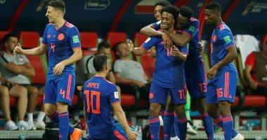 فرحة كولومبيا بالهدف الثالث