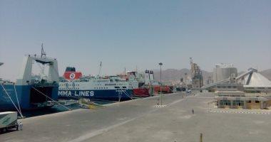 تداول 31 ألف طن ألومنيوم و 388 شاحنة بضائع بموانئ البحر الأحمر