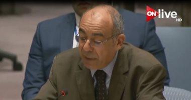 مندوب مصر بالأمم المتحدة يقترح إقامة مؤتمر حول إنشاء منطقة خالية من الأسلحة النووية