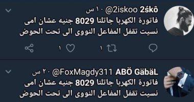 """""""يموت الإخوانى وشائعاته بتجرى"""".. 8 آلاف جنيه فاتورة كهرباء موحدة لأعضاء الإرهابية"""