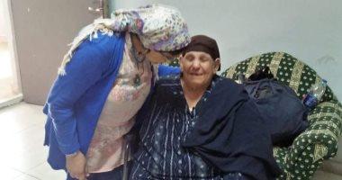 """فريق التدخل السريع بـ""""التضامن"""" ينقذ سيدة مسنة من الشارع"""