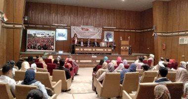 المشاركون فى احتفالية القليوبية بذكرى 30 يونيو: ندعم الرئيس ونرفض دعوات التظاهر