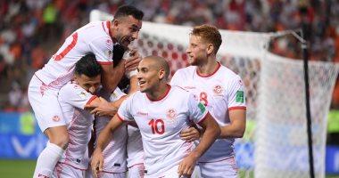 تونس تتقدم على سوازيلاند بثنائية نظيفة فى الشوط الأول.. فيديو