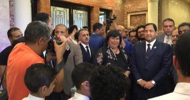 وزيرة الثقافة من طنطا: المركز الثقافى بالمدينة يعكس استيراتيجينا فى النهوض بالقطاع
