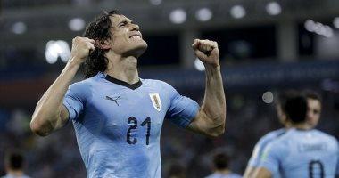 """""""كافانى"""" أفضل لاعب فى مباراة الأوروجواى والإكوادور"""