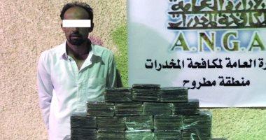 مكافحة المخدرات تضبط 782 طربة حشيش و27 ألف قرص مخدر فى 5 محافظات