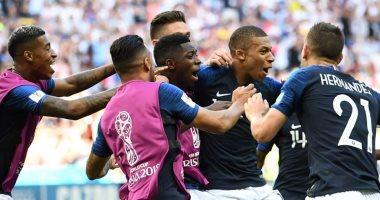 شاهد.. مشوار فرنسا فى كأس العالم قبل مباراة بلجيكا بنصف النهائى اليوم