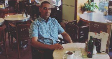 هزبر محمود فى مقهى سلافيا: هنا كان يقضى الجواهرى أوقاته ويخاطب دجلة