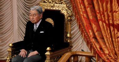 الإمبراطور اليابانى يقوم بآخر مهامة خارج القصر قبل التنازل عن العرش