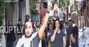 أحمد موسى يعرض فيديو لمظاهرات الشواذ بتركيا احتفالاً بفوز أردوغان
