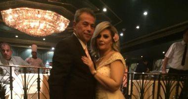 حياة الدرديرى تنفى نقل توفيق عكاشة للمستشفى: نقضى إجازة أسبوع وحزينة للشائعات