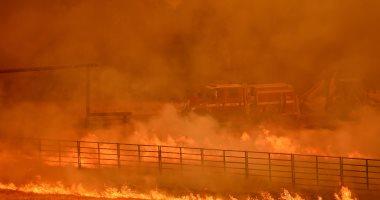 انتشار سريع لحريق غابات فى كاليفورنيا وإجلاء أكثر من 2000 شخص