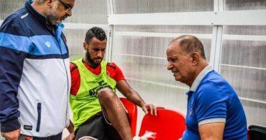تأكد غياب حسام عاشور ومحمد هانى عن الأهلي أمام المصرى