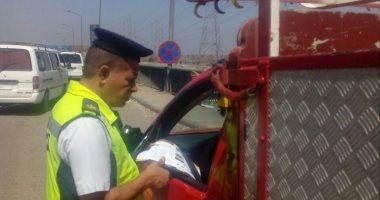 تحرير 654 مخالفة مرورية وضبط سائقين متعاطين مخدرات أثناء القيادة بأسوان