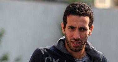 محمد أبو تريكة لاعب النادى الأهلى السابق