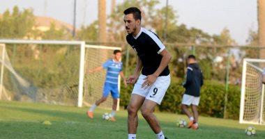 كعب القدم سر استبعاد إبراهيم حسن من مواجهة الزمالك والمقاولون