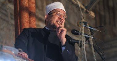 """""""الأوقاف"""" تلغى تصريح خطابة السلفى محمد سعيد رسلان وتمنعه من صعود المنبر"""
