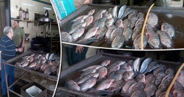 استقرارا أسعار الأسماك بسوق العبور  والمكرونة السويسى تبدأ من 60 جنيه