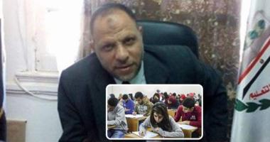 نائب رئيس امتحان الثانوية العامة يتفقد لجان تقدير الدرجات بقطاع القاهرة