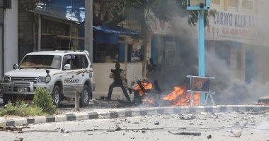 مقتل 4 وإصابة 5 أشخاص فى انفجار مركبة خارج مطعم بمقديشو فى الصومال