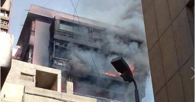 حريق مستشفى الحسين -أرشيفية