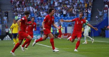 """إنجلترا تتأهل لنصف نهائى كأس العالم من بوابة السويد بثنائية.. """"الأسود الثلاثة"""" تحجز مقعدها فى المربع الذهبى للمرة الثالثة فى التاريخ بعد غياب 28 عاما.. وتعادل السجل التهديفى للجيل الذهبى فى نسخة 1966"""